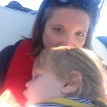 Snuggling During the Crossing