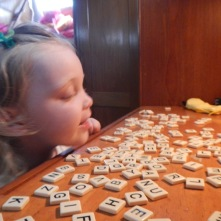Rained In - Time for Bananagrams!