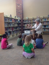 Story time at the local library